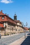 Bayreuth old town historical buildings Royalty Free Stock Photography