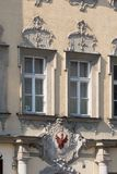 Bayreuth old town - historical facade Royalty Free Stock Photography