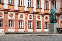 Bayreuth old town - old castle Royalty Free Stock Photography