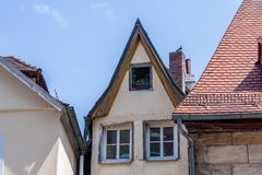 Bayreuth old town - small house Stock Photos