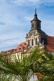 Bayreuth old town - Spitalkirche stock images