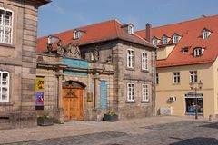 Bayreuth old town - Steingraeber piano manufacturer Stock Photo
