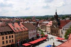 Bayreuth old town Stock Photos