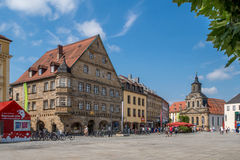 Bayreuth old town 2016 Royalty Free Stock Images