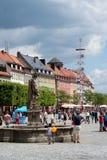 Bayreuth old town 2016 Stock Photos