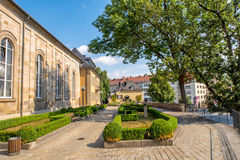 Bayreuth old town Royalty Free Stock Photos
