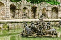 Bayreuth slott - Ermitage Arkivbilder