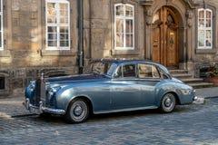 Bayreuth stary miasteczko - Rolls Royce obraz royalty free