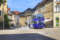 The Bayreuth town Royalty Free Stock Photography