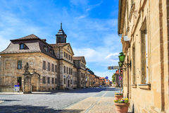 The Bayreuth town Stock Photos