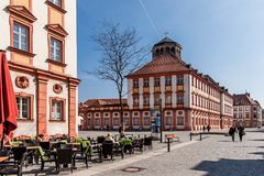 Bayreuth old town Royalty Free Stock Image