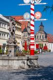 Bayreuth old town Royalty Free Stock Images