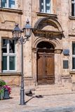 Bayreuth old town - Friedrichstraße - Portal stock images