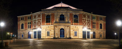 Bayreuth Wagner Festival Theatre Royalty Free Stock Image