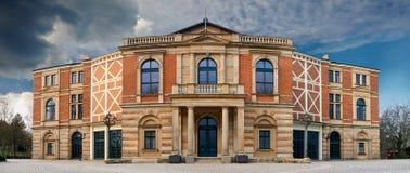 Bayreuth Wagner Festival Theatre stockbild