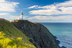 Bayron Bay lighthouse Royalty Free Stock Photos