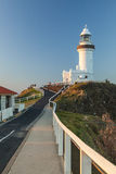 Bayron Bay lighthouse Royalty Free Stock Images