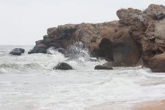 Bays of the Karalarsky natural landscape park. Stock Images