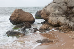 Bays of the Karalarsky natural landscape park. Stock Photography