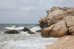 Bays of the Karalarsky natural landscape park. Stock Photo