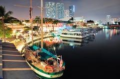 bayside市场迈阿密 免版税库存照片