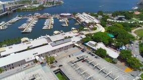Bayside Майами сток-видео