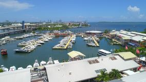 Bayside aéreo Miami metrajes