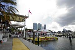 Bayside Downtown Miami Stock Photography