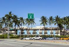 Bayside komplex i Miami Arkivfoton