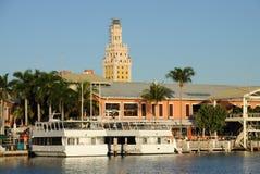 Bayside Marina in Miami Stock Images