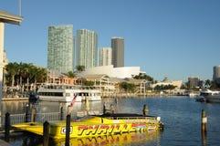 Bayside Marina, Miami Stock Image