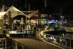 Bayside Marketplace in Miami royalty free stock photos