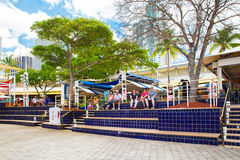 Bayside Marketplace Miami Royalty Free Stock Photo