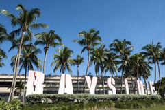 Bayside marknadsplats i Miami Royaltyfri Fotografi