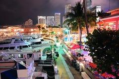 Bayside Markt Miami Stockbilder