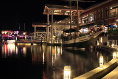 Bayside-Markt in Miami Lizenzfreies Stockbild