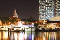Bayside, Miami Stock Afbeelding