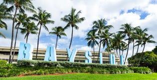 Bayside in Miami Stock Image