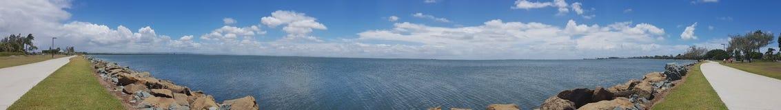 Bayside panorama Royaltyfri Bild