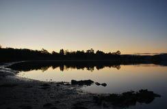 bayside wieczór Fotografia Royalty Free