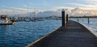 Bayswater marina Royaltyfria Bilder