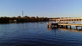Bayswater Paddlesports俱乐部 免版税库存图片