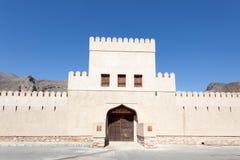 Bayt Ar Ridaydah kasztel w Oman Obrazy Stock