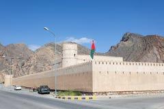 Bayt Ar Ridaydah kasztel w Oman Obraz Royalty Free
