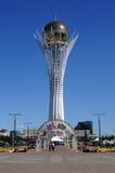 Bayterek è il simbolo di Astana Immagine Stock
