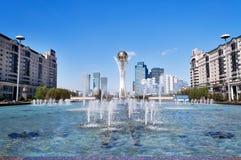 Bayterek est un monument à Astana kazakhstan Images libres de droits