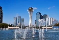 Bayterek ist ein Monument in Astana kazakhstan Stockbild
