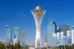 Bayterek ist ein Monument in Astana kazakhstan Stockbilder