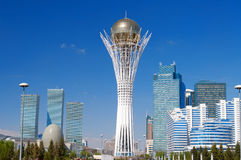 Bayterek is a monument in Astana. Kazakhstan Stock Images
