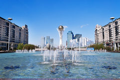Bayterek is a monument in Astana. Kazakhstan Royalty Free Stock Images